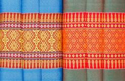 Teste padrão da cor dos descansos tailandês Fotografia de Stock