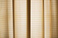 Teste padrão da cortina Fotos de Stock Royalty Free