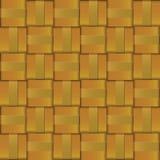 Teste padrão da cruz do weave do metal do ouro Foto de Stock