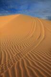 Teste padrão da duna de areia Fotos de Stock
