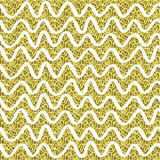 Teste padrão da efervescência do brilho do ouro Fundo sem emenda decorativo Textura abstrata dourada brilhante Contexto do dottet Imagem de Stock Royalty Free
