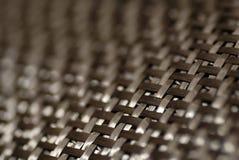 Teste padrão da fibra do carbono Fotos de Stock Royalty Free