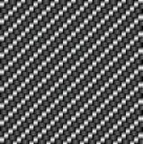 Teste padrão da fibra do carbono Fotografia de Stock Royalty Free