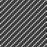 Teste padrão da fibra do carbono de Tileable Imagens de Stock