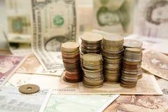 Teste padrão da finança Fotografia de Stock