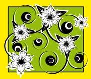 Teste padrão da flor Fotografia de Stock