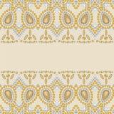 Teste padrão da forma do brilho do ouro das pedras brilhantes, cristais de rocha ilustração stock