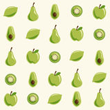 Teste padrão da fruta Foto de Stock Royalty Free