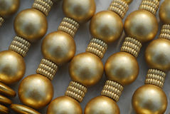 Teste padrão da jóia do desenhador do ouro Foto de Stock Royalty Free