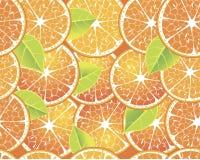 Teste padrão da laranja do vetor Fotografia de Stock Royalty Free