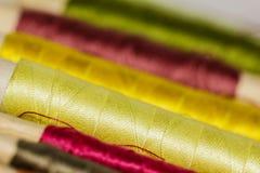 Teste padrão da linha de costura Fotos de Stock Royalty Free