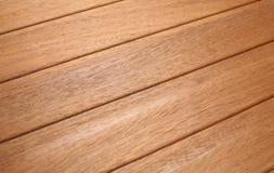 Teste padrão da madeira da árvore da teca Foto de Stock Royalty Free