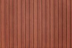 Teste padrão da madeira de Brown Fotos de Stock