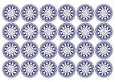 Teste padrão da malha das flores Fotografia de Stock Royalty Free