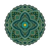 Teste padrão da mandala do círculo Fotografia de Stock Royalty Free