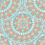 Teste padrão da mandala da flor dentro Imagem de Stock Royalty Free