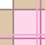 Teste padrão da manta ilustração stock