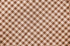 Teste padrão da manta do Sepia Fotografia de Stock