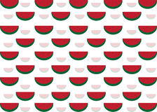 Teste padrão da melancia Fotografia de Stock Royalty Free