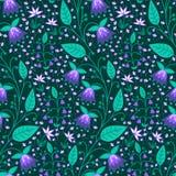 Teste padrão da natureza da flor Foto de Stock Royalty Free