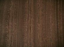 Teste padrão da natureza da superfície decorativa de madeira da mobília da teca Fotos de Stock
