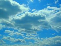 Teste padrão da nuvem Imagens de Stock