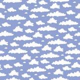 Teste padrão da nuvem Fotografia de Stock