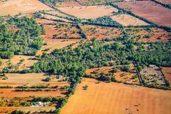 Teste padrão da paisagem de Mallorca Foto de Stock Royalty Free