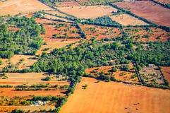 Teste padrão da paisagem de Mallorca Fotos de Stock Royalty Free