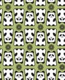 Teste padrão da panda. ilustração royalty free