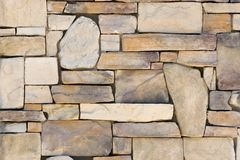 Teste padrão da parede da rocha do fundo imagens de stock royalty free