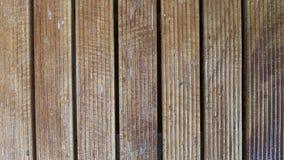 Teste padrão da parede de madeira Foto de Stock Royalty Free