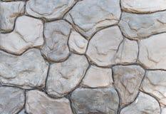 Teste padrão da parede de pedra Fotos de Stock