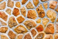 Teste padrão da parede de pedra Imagem de Stock