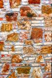 Teste padrão da parede de pedra Foto de Stock Royalty Free