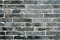 Teste padrão da parede de tijolo Imagem de Stock