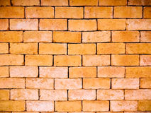 Teste padrão da parede de tijolo Imagens de Stock