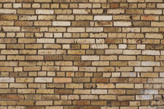 Teste padrão da parede de tijolo Imagem de Stock Royalty Free