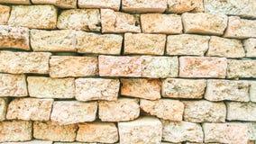 Teste padrão da parede de tijolo para o fundo Foto de Stock Royalty Free