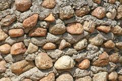 Teste padrão da parede da rocha fotos de stock