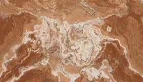 Teste padrão da pedra do mármore de Brown Foto de Stock