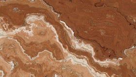 Teste padrão da pedra do mármore de Brown Imagens de Stock