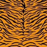 Teste padrão da pele do tigre ilustração do vetor