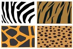 Teste padrão da pele dos animais ilustração royalty free