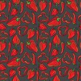 Teste padrão da pimenta Imagem de Stock Royalty Free