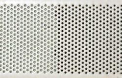 Teste padrão da placa de metal Fotografia de Stock