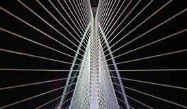 Teste padrão da ponte imagens de stock