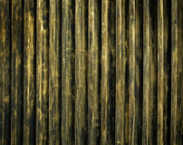 Teste padrão da porta do aço do ouro Fotografia de Stock Royalty Free