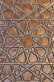 Teste padrão da porta, mesquita de Selimiye, Edirne, Turquia Fotos de Stock