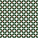 Teste padrão da repetição do azevinho Imagem de Stock Royalty Free